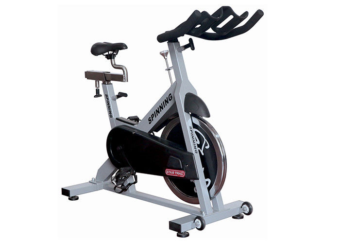 Professional Magnetic Gym Master Movable Proform Spin Bike With Dip Handle